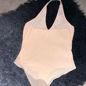 Halter Top Bodysuit